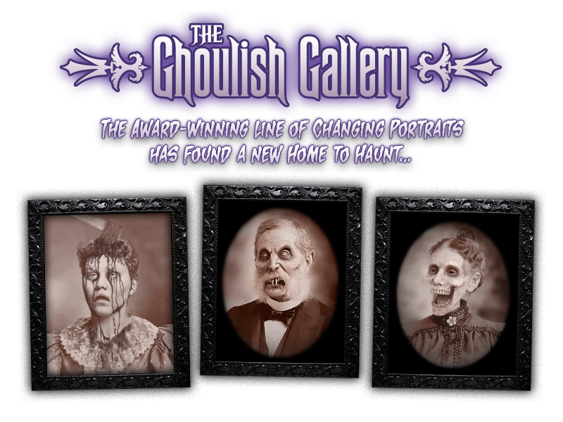 The Ghoulish Gallery: The Award-Winning Line of Changing Portraits has found a new home to haunt...