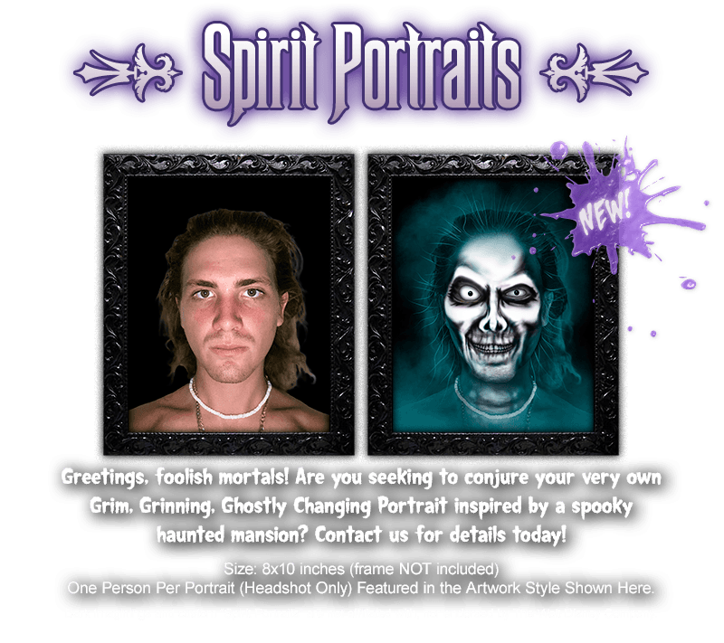 Custom Haunted Spirit Portraits NOW AVAILABLE!